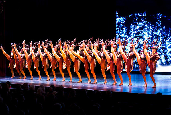 The Rockettes @ Peabody Opera House November 2012