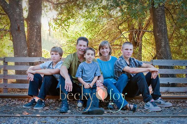 Rains Family-2012