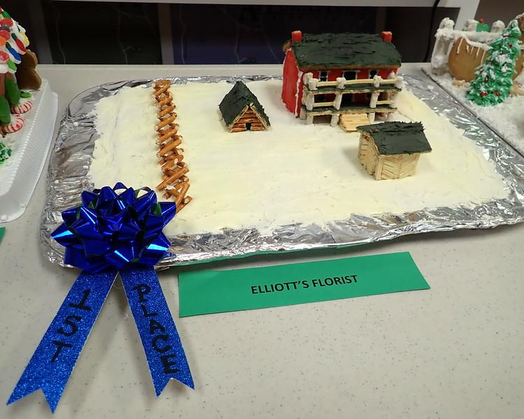 Gingerbread judging contest!