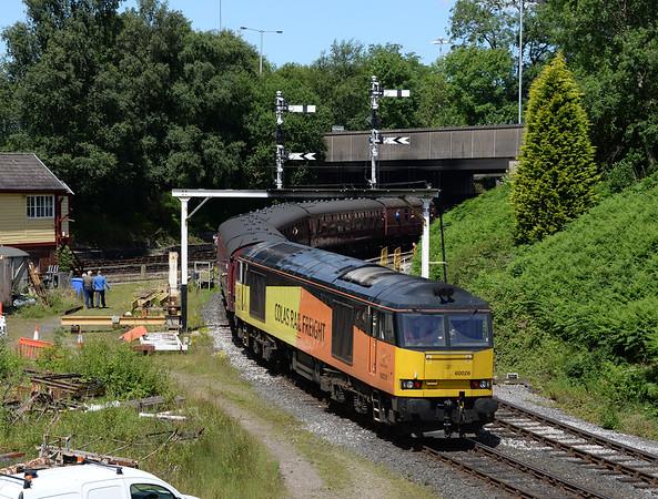 East Lancashire Railway Summer Diesel Gala 08/07/17.