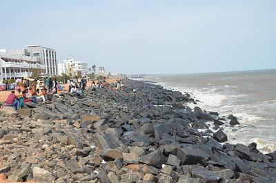 Promenade Beach - Pondicherry Beach