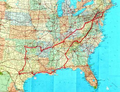 Spring 2012 road trip.