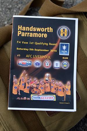 Handsworth Parramore (a) L 1-0