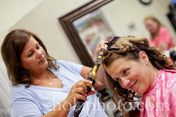 Heather and Bret Color Wedding Photos (Lexington, KY)