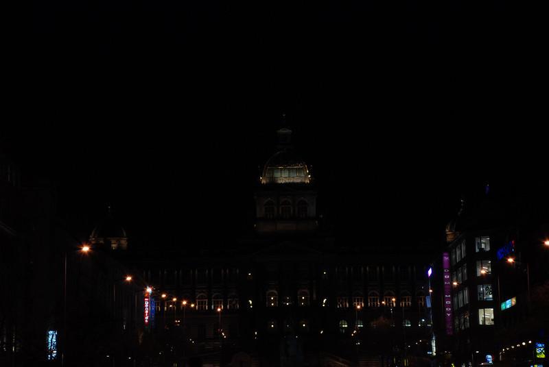 Good King Winselas Square at Night 2.JPG