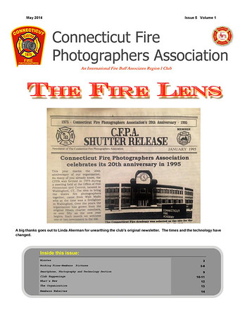 CFPA Newsletter May 2014
