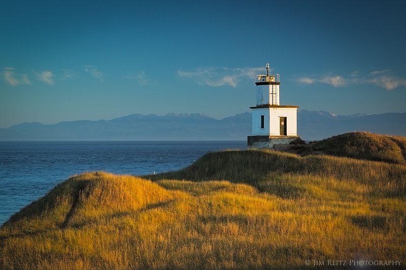 Cattle Point LIghthouse, San Juan Island.