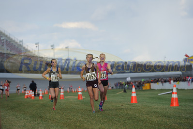 Finish, Gallery 3 - D1 Girls 2015 MHSAA LP XC