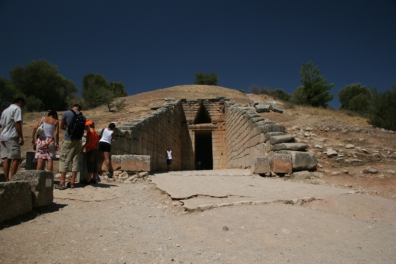 Mycenae, Greece: The Tomb of Agamemnon