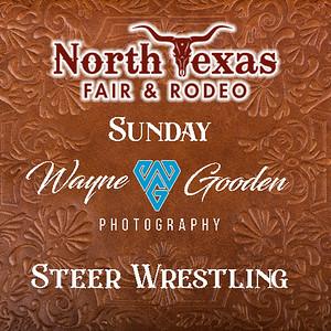 Sunday Night Steer Wrestling