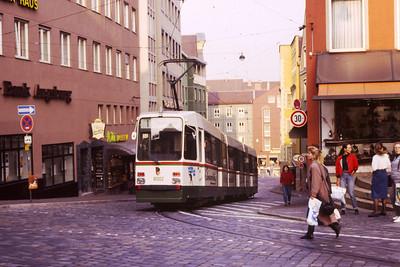 Trams of Augsburg