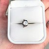 .90ct Late Victorian Antique Cushion Cut Collet Component 0
