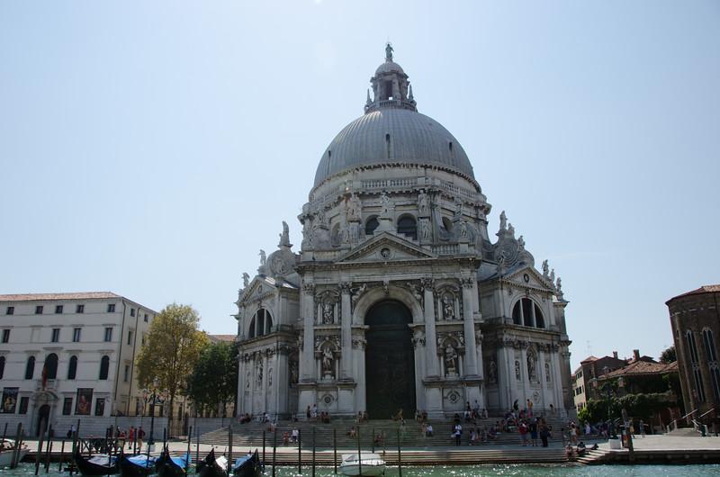 Basilica di Santa Maria della Salute. Venice