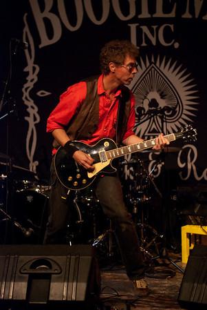 Konsert med Boogiemen Inc. på Skuret, 2009