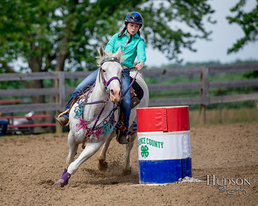 10. Barrels Horse, Sr. Rider