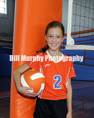 2013 Marshall County Middle School Volleyball Team, Coaches Taylor Edwards & Bill Kunnecke.