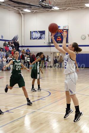 Girls Basketball, West Burlington vs Danville 12/11/2012
