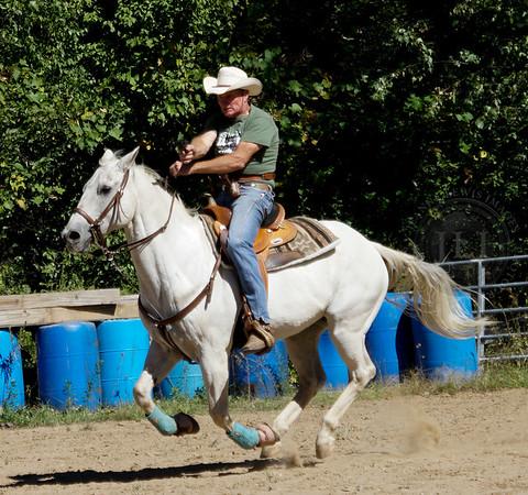 2016 September 25 - Practice at Bronco Billy's