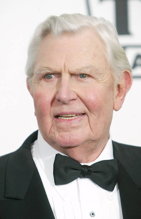 . Actor Andy Griffith. (Photo by Frederick M. Brown/Getty Images)