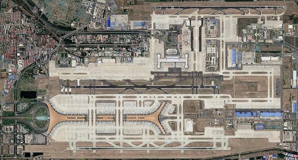 Landing in Beijing (August 10, 2004)
