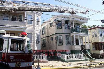 Chelsea, MA - Working Fire, 130 Bellingham Street, 8-3-11