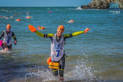 Holy Island 2019 - Porthdafarch Swim Exit