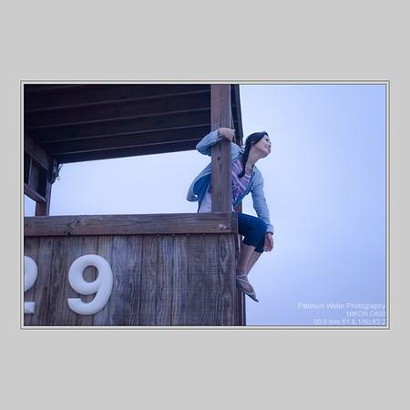 Helen, Pleasure Pier Beach, Galveston