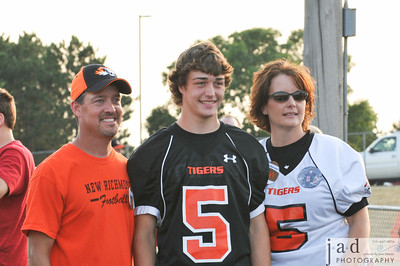 NRHS 1st home game--Parents Night