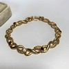 Vintage French Ruby & Diamond Serpent Bracelet 7