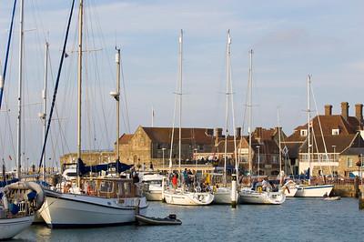 Yacht marina, Yarmouth, Isle of Wight, United Kingdom