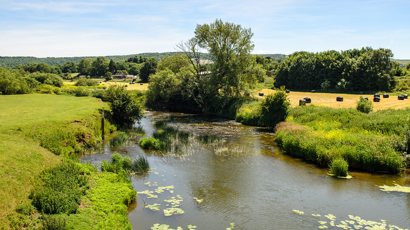 River Stour at Shillingstone in Dorset