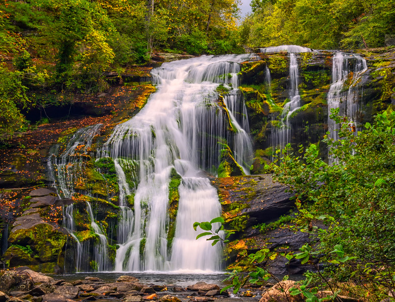 Bald River Falls in Cherokee National Forest