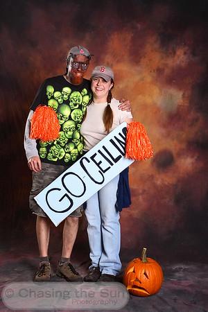 Helene and Jason Halloween Photos