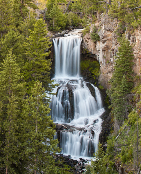undine falls, yellowstone