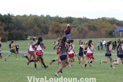 Cross Country: Dulles District Meet 2012