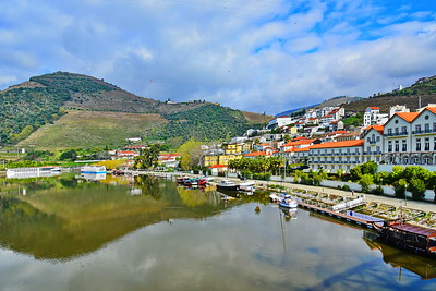 Pinhao on the Douro River