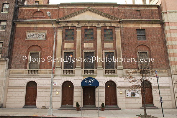 USA, New York, New York City, Manhattan. Ramath Orah Congregation. (2.2012)