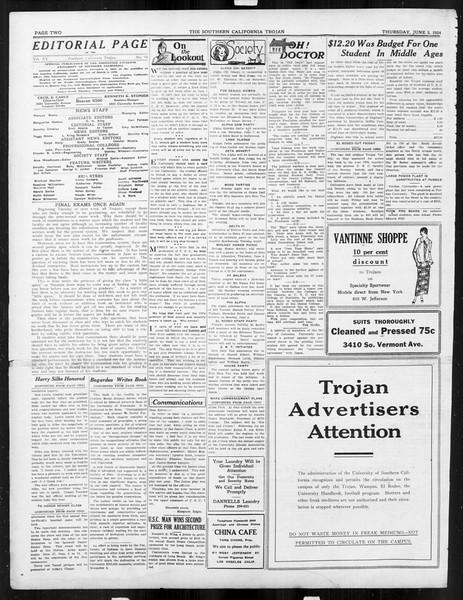 The Southern California Trojan, Vol. 15, No. 94, June 05, 1924