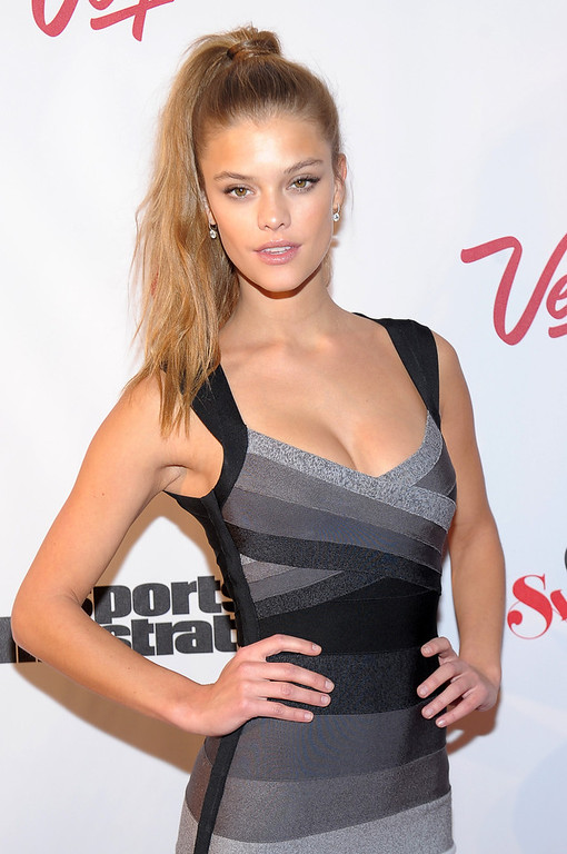 . SI Swimsuit Model Nina Agdal attends Club SI Swimsuit at 1 OAK Nightclub at The Mirage Hotel & Casino on February 14, 2013 in Las Vegas, Nevada.  (Photo by Michael Loccisano/Getty Images for Sports Illustrated)