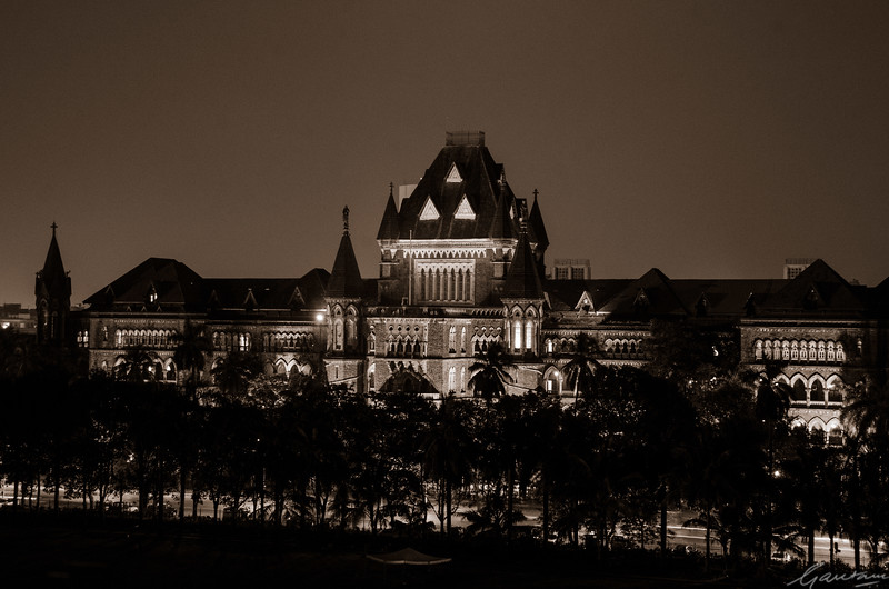 High Court, night.