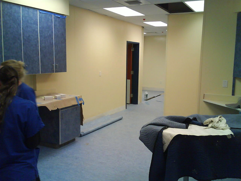 Empty medical room