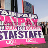 University and College Union lecturers take to the streets for the 4th time this year to strike at Newry and Kilkeel Institute as part of an ongoing campaign to get pay parity with schoolteachers. 06W42N19