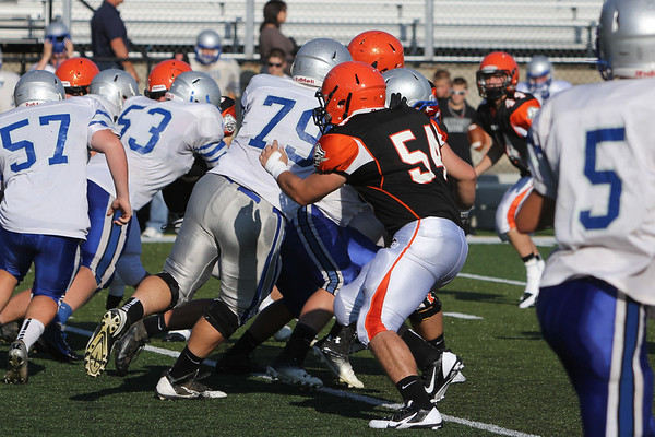 Football:  Wheelersburg vs. Bishop Ready 2013