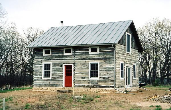 Clark and Alice farm house