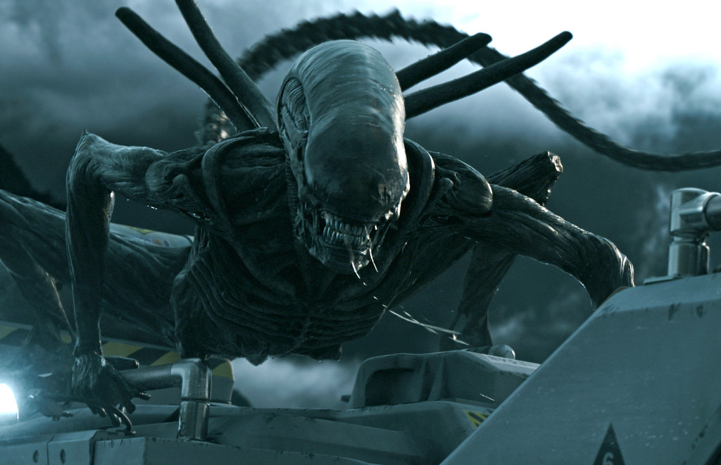 ". ""Alien: Covenant\"" is in theaters May 19.  (Twentieth Century Fox)"