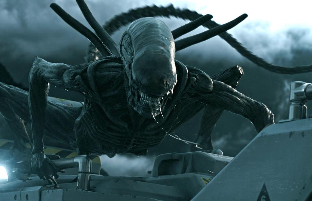 ". \""Alien: Covenant\"" is in theaters May 19.  (Twentieth Century Fox)"