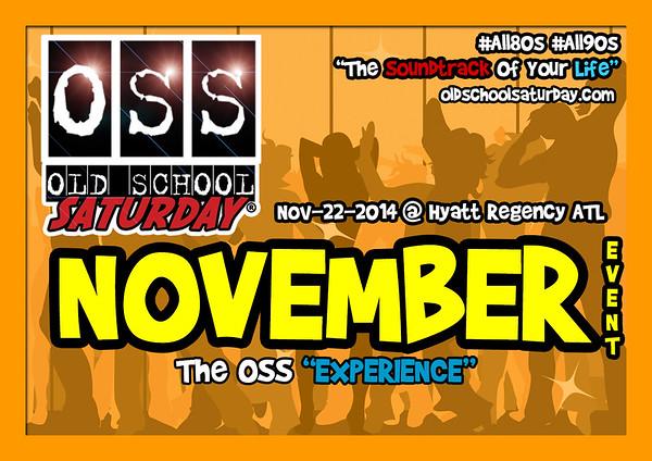Nov-22-2014 OSS @ Hyatt Regency ATL ::: ATL, GA, USA