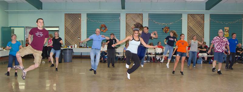 Dancers Bell Kick