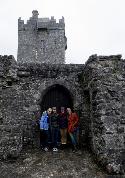 Aughnanure Castle was closed by the time we got there.