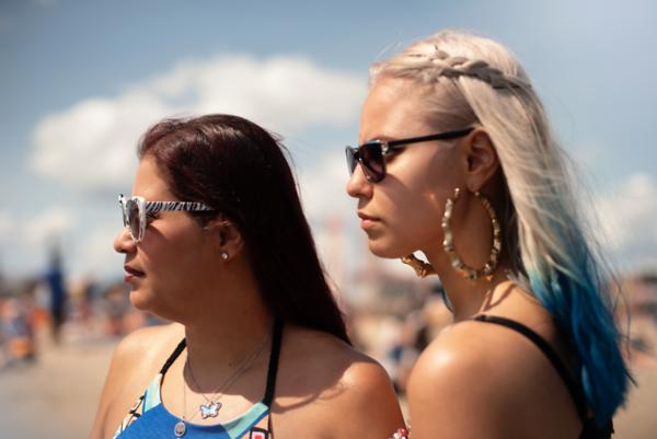 Vanessa and Sarah CI Beach